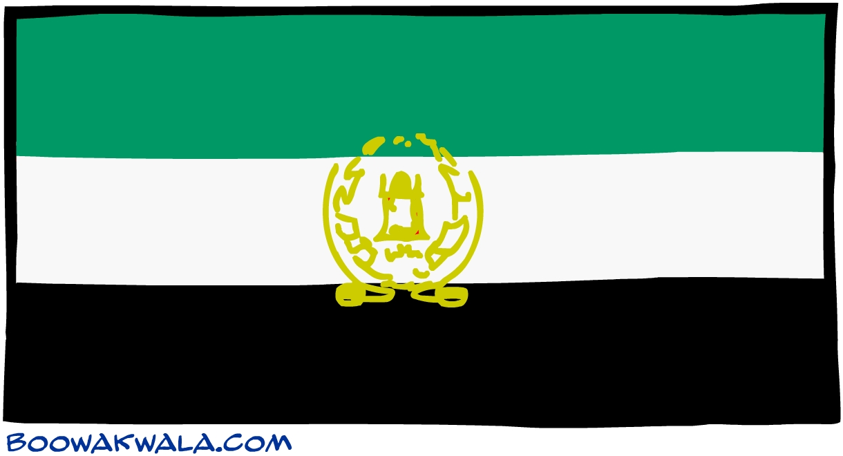 Afghanistan drapeau - Koala et boowa ...