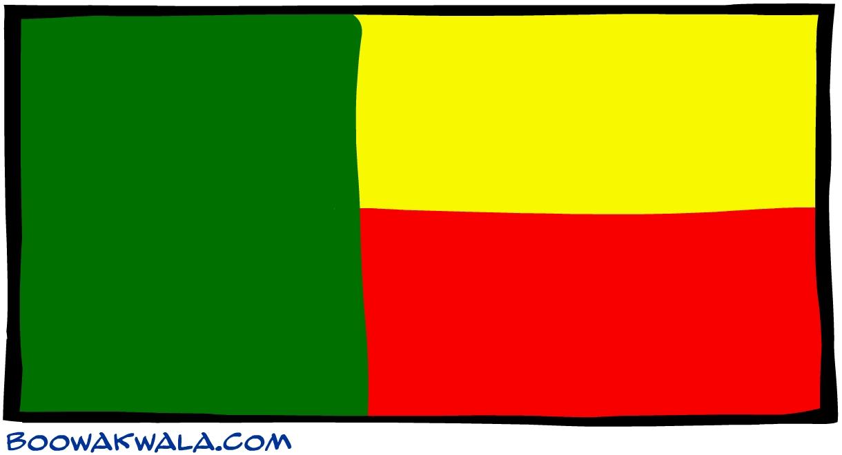 B nin drapeau - Koala et boowa ...