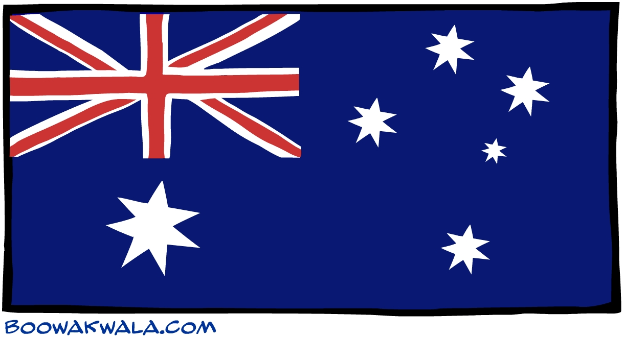 Le heard et les mc donald drapeau - Koala et boowa ...