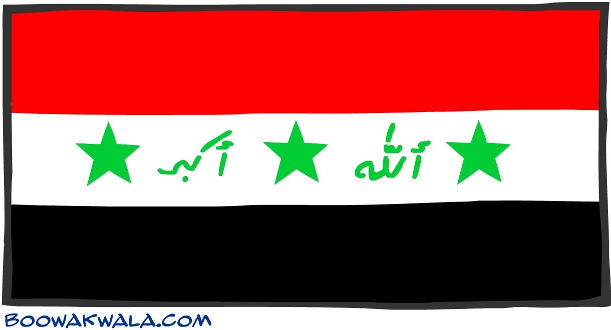 Iraq drapeau - Koala et boowa ...
