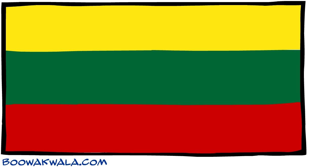 Lituanie drapeau - Koala et boowa ...
