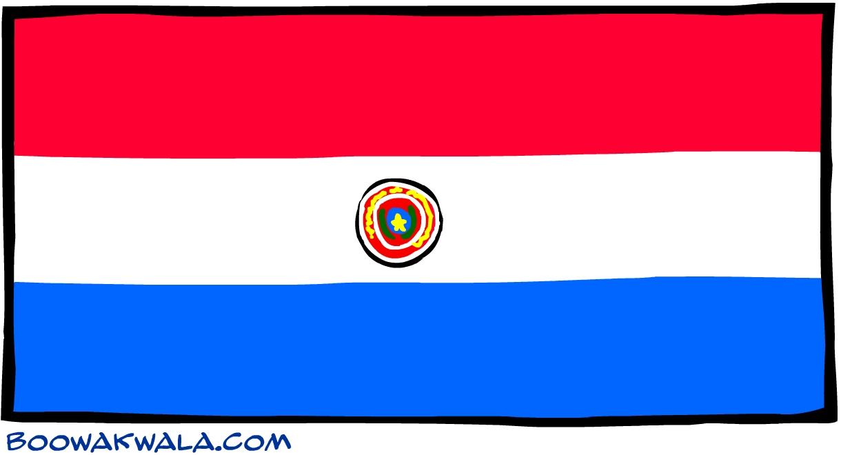 Paraguay drapeau - Koala et boowa ...