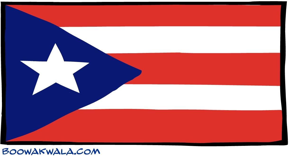 drapeau de porto rico