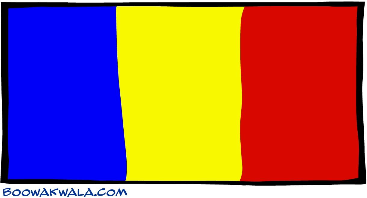 Roumanie drapeau - Koala et boowa ...