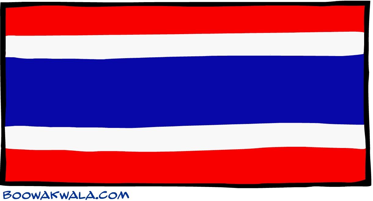 drapeau de la thailande