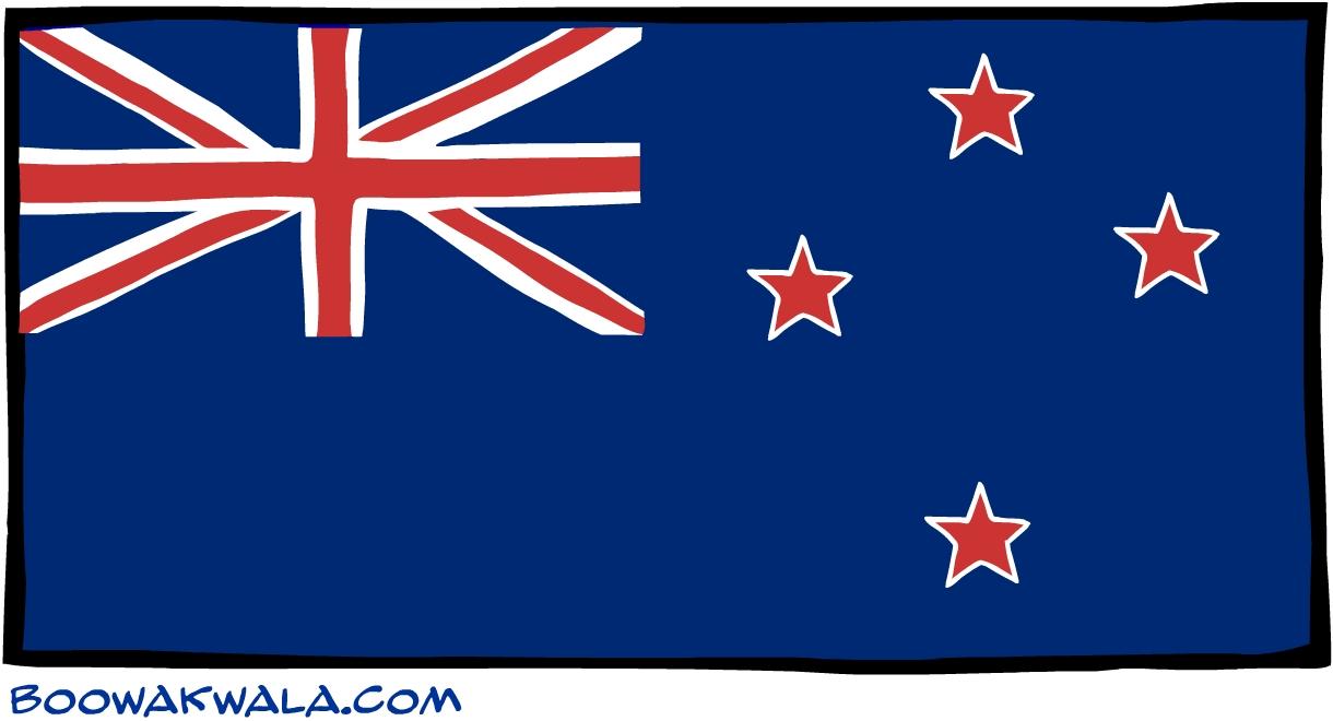 Tokelau drapeau - Koala et boowa ...