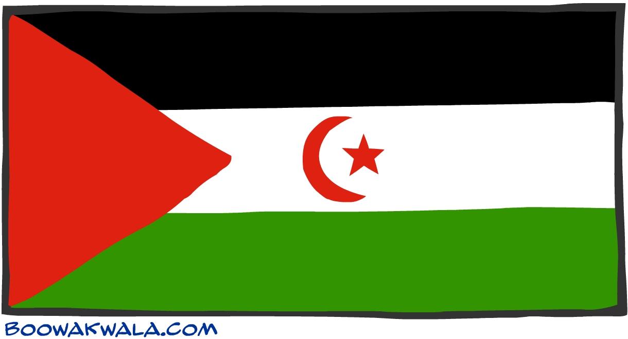 Sahara occidentale drapeau - Koala et boowa ...